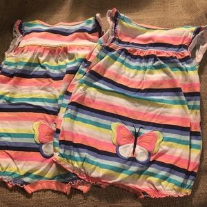 Twin rompers